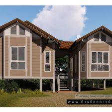 บ้านน็อคดาวน์,บ้านสำเร็จรูป, รับสร้างบ้านน็อคดาวน์